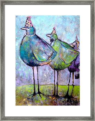 Birthday Buddies Framed Print