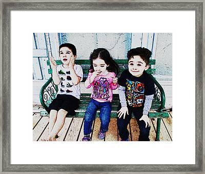 Birthday Princess Framed Print