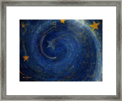 Birthed In Stars Framed Print