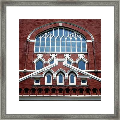 Birthplace Of Bluegrass- Photography By Linda Woods Framed Print