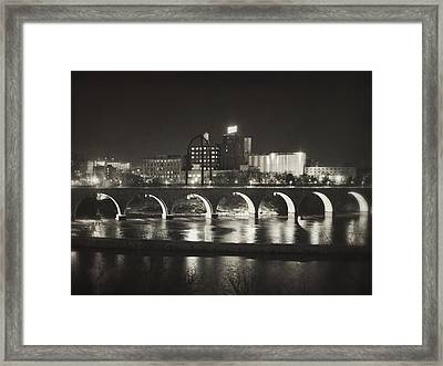 Birthplace Of Minneapolis Framed Print
