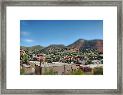 Framed Print featuring the photograph Bisbee Arizona by Dan McManus