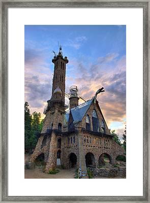 Bishops Castle Framed Print