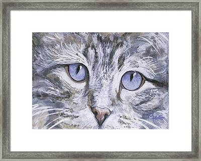 Bisous Framed Print by Mary-Lee Sanders