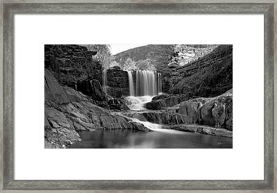 Bissell Falls   Framed Print by Ed Boudreau