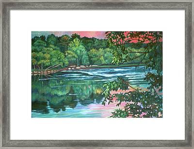 Bisset Park Rapids Framed Print