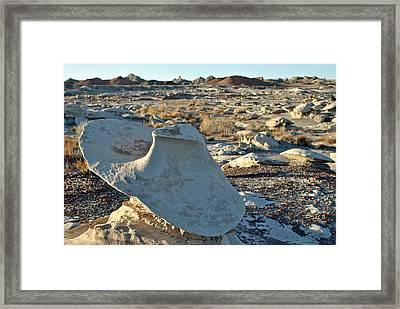 Bisti Badlands, Nm 43 Framed Print by Jeff Brunton