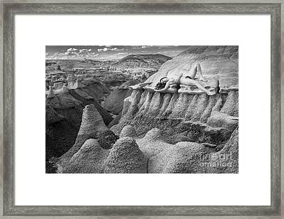 Bisti Beauty Framed Print