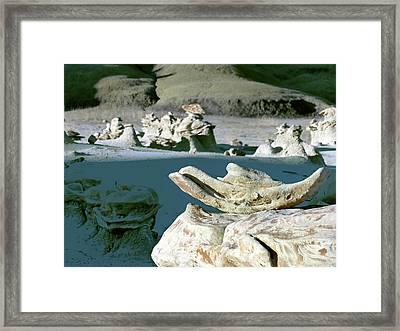 Bisti Wilderness Area At Sunup 34 Framed Print by Jeff Brunton