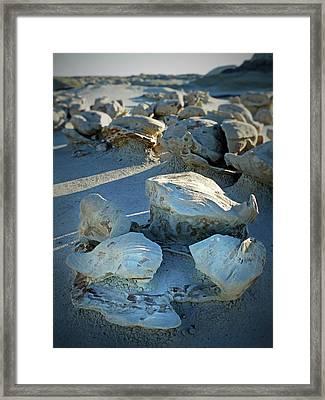 Bisti Wilderness Area At Sunup 51 Framed Print by Jeff Brunton