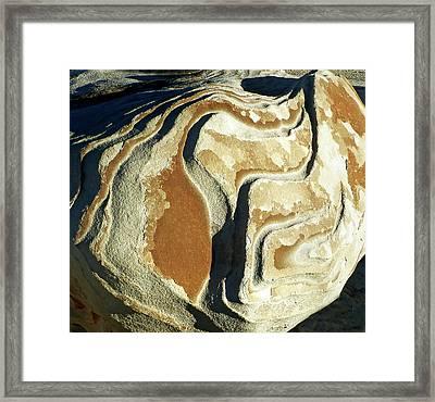 Bisti Wilderness Area At Sunup 55 Framed Print by Jeff Brunton