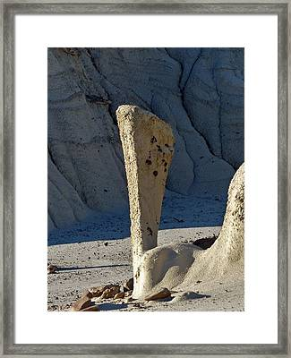 Bisti Wilderness Area At Sunup 69 Framed Print by Jeff Brunton