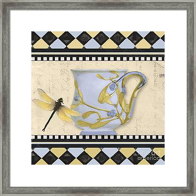 Bistro Nouveau II Framed Print by Mindy Sommers