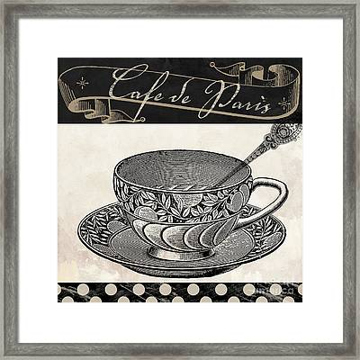 Bistro Parisienne IIi Framed Print by Mindy Sommers