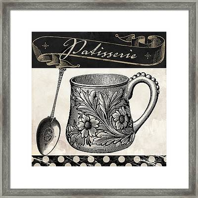 Bistro Parisienne Iv Framed Print by Mindy Sommers