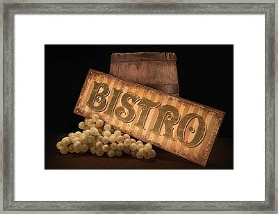 Bistro Still Life IIi Framed Print by Tom Mc Nemar
