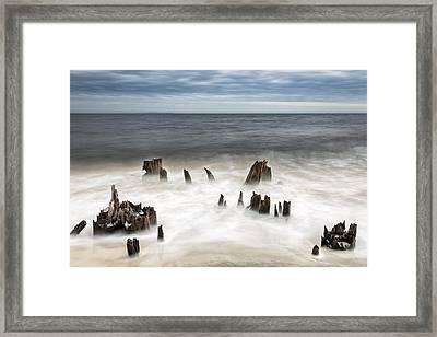 Bite Of The Ocean Framed Print