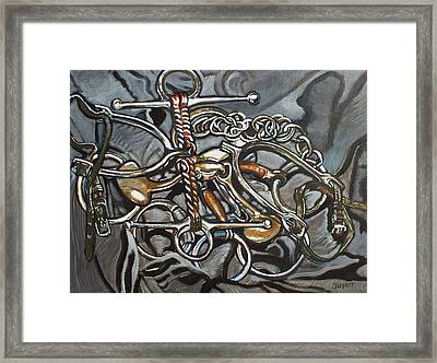 Bits And Pieces Framed Print