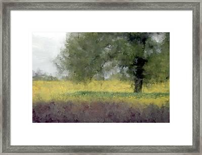 Bitter Weeds Framed Print