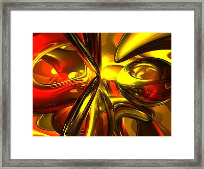 Bittersweet Abstract Framed Print