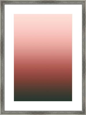 Bittersweet Rose - R Blended Framed Print