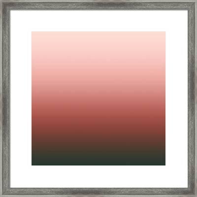 Bittersweet Rose - Sq Blended Framed Print