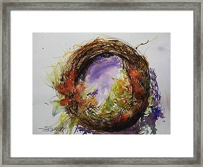 Bittersweet Framed Print by Susan Seaborn