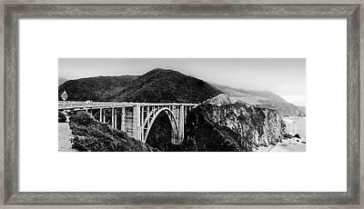 Bixby Bridge - Big Sur - California Framed Print