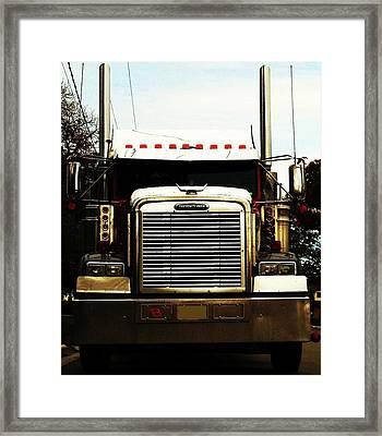 Framed Print featuring the photograph BJ by Cyryn Fyrcyd