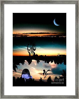 Bjorkthinks Framed Print