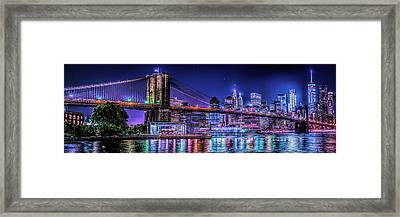 Framed Print featuring the photograph Bk Glow by Theodore Jones