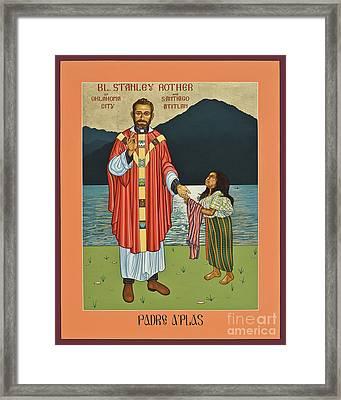 Bl. Stanley Rother - Lwsro Framed Print