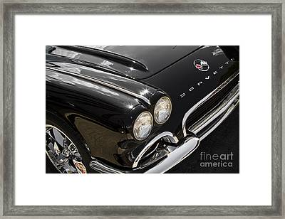 Black '62 Framed Print by Dennis Hedberg