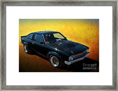 Black A9x Framed Print