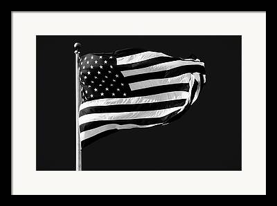 Flag Pole Framed Prints