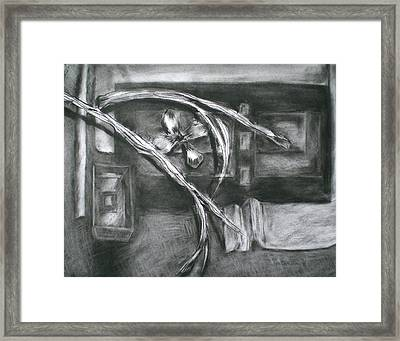 Black And White Composition II Framed Print