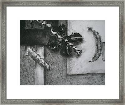 Black And White Composition IIi Framed Print