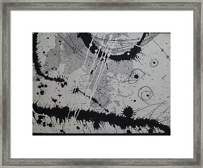 Black And White Four Framed Print