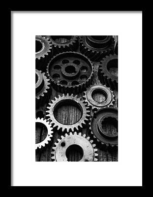Gears Framed Prints