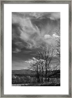 Black And White Landscape 5283 Framed Print
