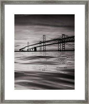 Black And White Reflections 2 Framed Print