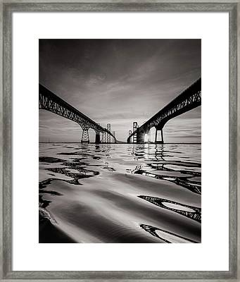 Black And White Reflections Framed Print