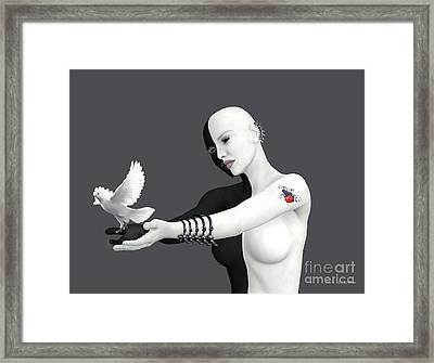 Released Framed Print by Barbara Milton