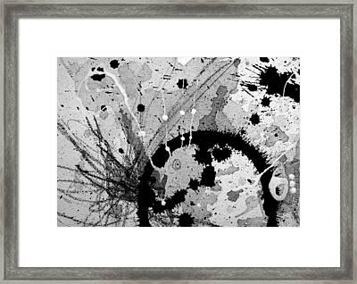 Black And White Three Framed Print