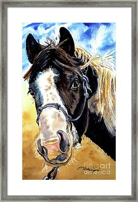 Black And White Framed Print by Tracy Rose Moyers