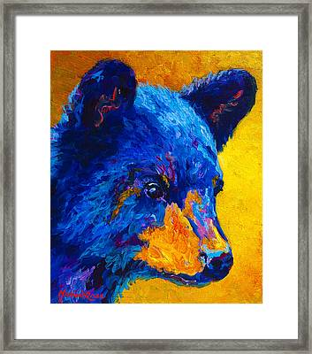 Black Bear Cub 2 Framed Print