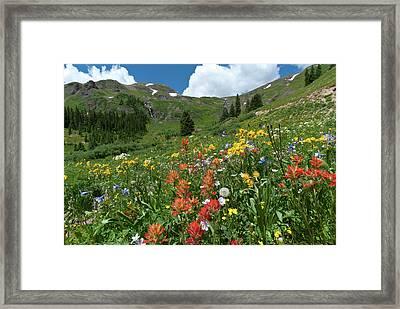 Black Bear Pass Landscape Framed Print