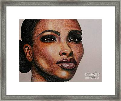 Black Beauty 1 Framed Print