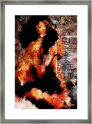 Black Beauty Framed Print by Andrea Barbieri
