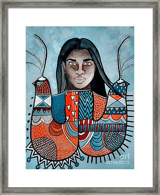Black Bird Black Bird Framed Print by Amy Sorrell